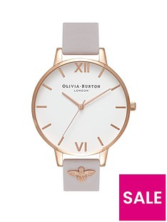 olivia-burton-olivia-burton-white-and-rose-gold-detail-big-dial-3d-bee-embellished-grey-leather-strap-ladies-watch