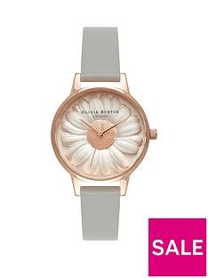 olivia-burton-olivia-burton-white-and-rose-gold-3d-daisy-midi-dial-grey-leather-strap-ladies-watch