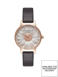olivia-burton-olivia-burton-white-and-rose-gold-3d-daisy-midi-dial-black-leather-strap-ladies-watch