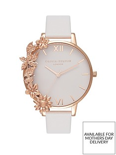 olivia-burton-olivia-burton-white-and-rose-gold-floral-cuff-big-dial-white-leather-strap-ladies-watch