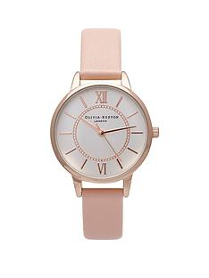 olivia-burton-olivia-burton-wonderland-white-with-silver-and-rose-gold-detail-midi-dial-dusty-pink-leather-strap-ladies-watch