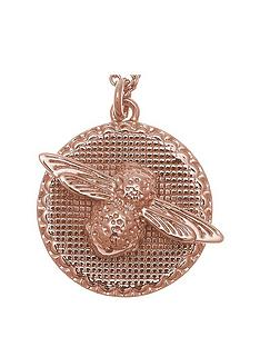 olivia-burton-olivia-burton-18k-rose-gold-plated-3d-bee-and-coin-pendant-necklace