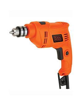 black-decker-blackdecker-450w-corded-single-speed-hammer-drill-keyed-chuck