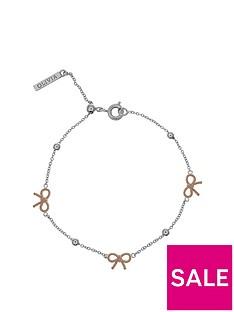 olivia-burton-olivia-burton-silver-and-18k-rose-gold-vintage-bow-and-ball-chain-bracelet