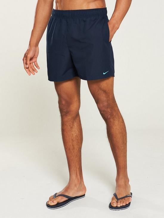 6764c2a0c7 Nike Swim Solid Lap 5 Inch Swim Shorts - Obsidian | very.co.uk