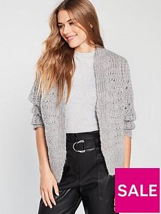 river-island-knitted-cardigan-grey