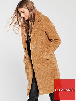 river-island-teddy-coat-brown