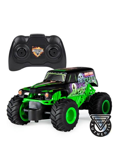 monster-jam-radio-controlled-grave-digger-124-scale