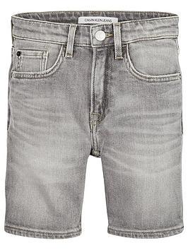 calvin-klein-jeans-boys-tapered-denim-shorts-grey
