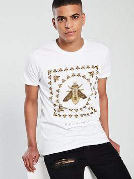 hermano-box-print-bee-t-shirt