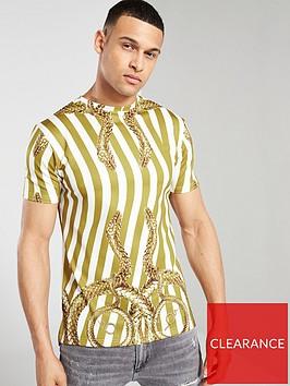 hermano-all-over-print-snake-t-shirt-whitegold
