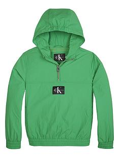 calvin-klein-jeans-boys-packable-anorak-and-bumbagnbsp--green