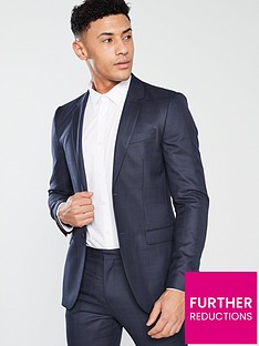 v-by-very-regular-fit-check-suit-jacket-navy