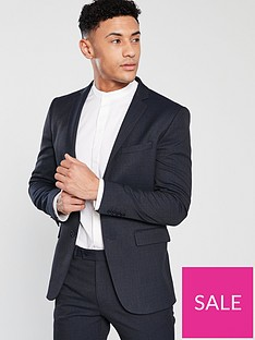 v-by-very-slim-fit-check-suit-jacket-navy