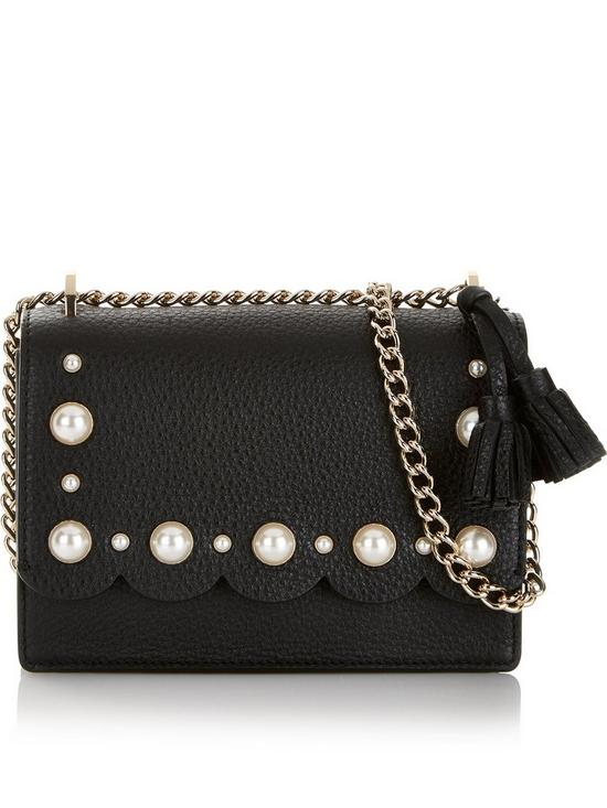 2781cf27ae28 Kate Spade New York Hazel Pearl Scallop Cross-Body Bag - Black ...