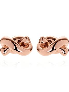 kate-spade-new-york-sailor-knot-stud-earringsnbsp--rose