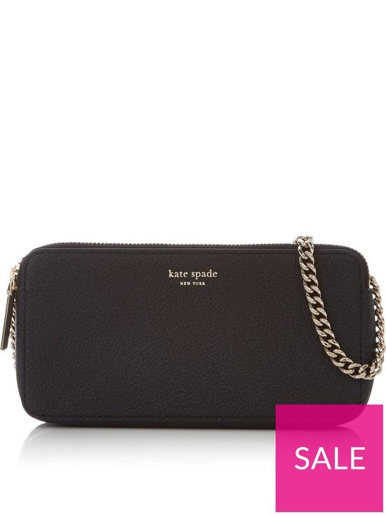 800091a19 Kate Spade New York Margaux Double Zip Mini Cross-body Bag - Black ...