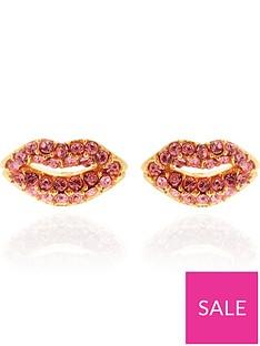 kate-spade-new-york-pave-lip-stud-earrings-rose