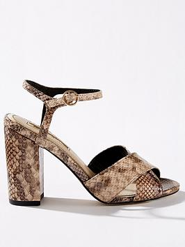 miss-selfridge-cross-over-block-heel-sandals-snake
