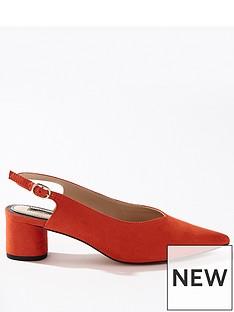 miss-selfridge-round-heel-slingback