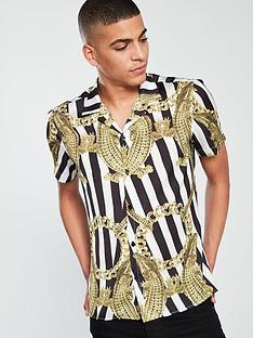 hermano-cuban-short-sleeve-printed-shirt