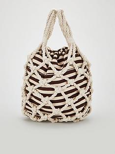 f50167b03efc V by Very Joni Rope Shopper Bag