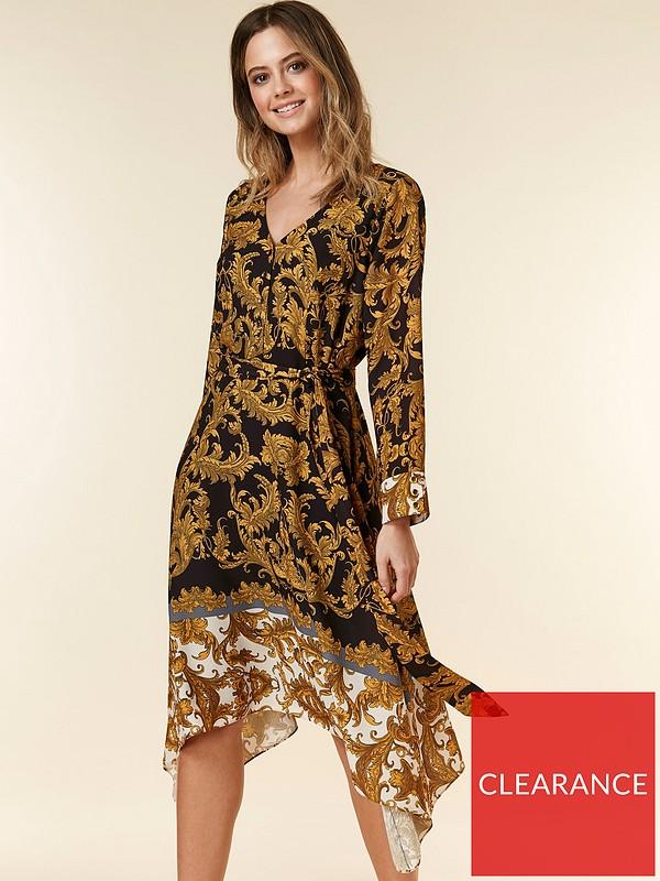 c8814387ac9 Petite Baroque Dress - Multi
