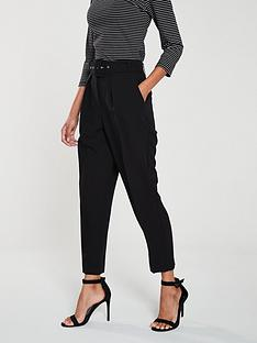 8325323f0 Oasis Peg Trouser - Black