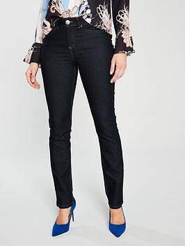 wallis-harper-straight-legged-jeans-indigo