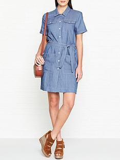 7-for-all-mankind-short-sleeve-bayside-dress-light-blue