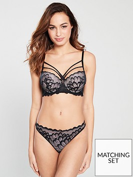 ann-summers-dalany-exboost-plunge-bra-black-nude