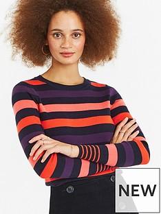 oasis-clara-stripe-jumper