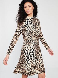 Wallis Leopard Swing Dress 57817add3