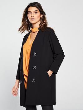 wallis-scuba-button-front-jacket-blacknbsp