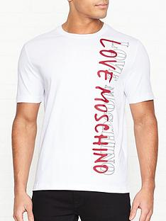 love-moschino-logonbspprint-t-shirt-white