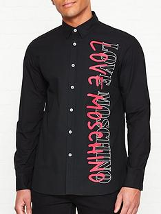 love-moschino-print-shirt-black