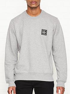 love-moschino-new-plaque-logo-sweatshirt-grey