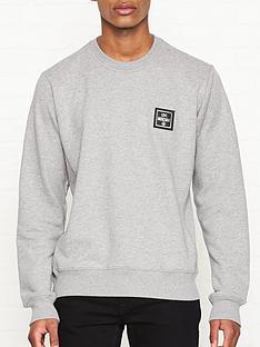 love-moschino-new-plaque-logo-sweatshirt-grey