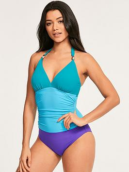 figleaves-colour-block-underwired-halter-swimsuit-blue