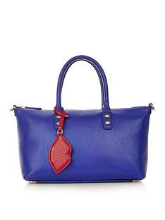 lulu-guinness-frances-grainy-leather-small-tote-bag-blue