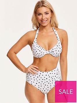 figleaves-sorrento-spotnbspunderwired-non-padded-halter-bikini-top-white