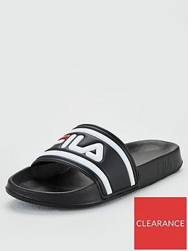 fila-morro-bay-slider-black-white