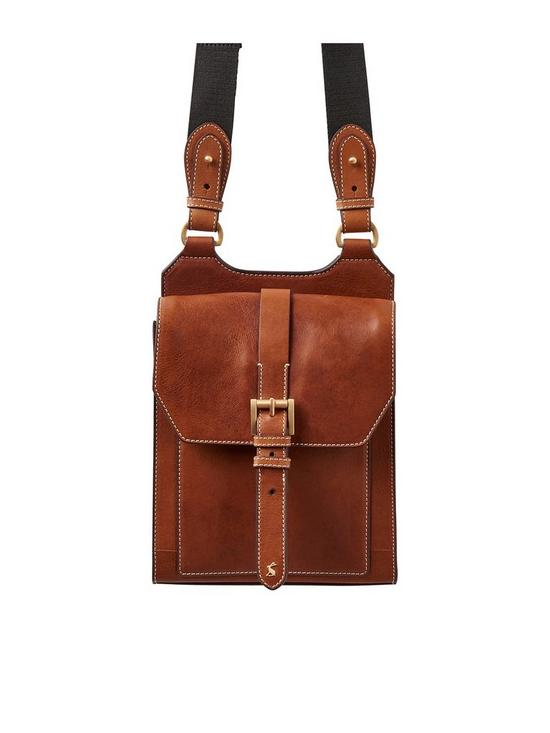 a3625d69f8b1 Joules Tan Leather Crossbody Bag | very.co.uk