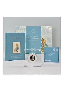 royal-mint-peter-rabbit-silver-proof-50p-coin-book-set