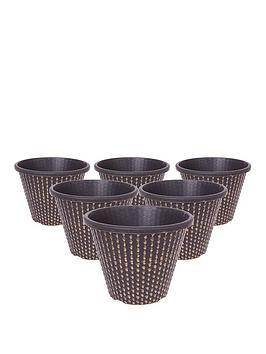 pack-of-6-x-11-inch-27cm-pinecone-planters