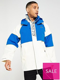 lacoste-live-colour-block-canvas-technical-parka-whiteblue