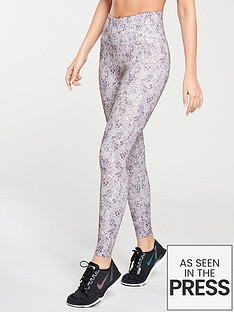 michelle-keegan-animal-print-gym-leggings-printed