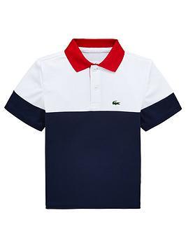 lacoste-sports-boys-short-sleeve-colourblock-polo-shirt-whitenavy
