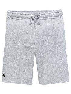 0c5d507376 Lacoste Sports Boys Sweat Shorts - Grey