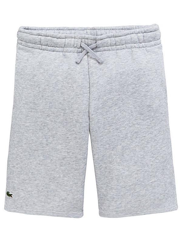 Lacoste Sports Boys Sweat Shorts - Grey  92973d9e7b1